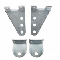 Double Swing Gate Bracket Set